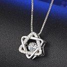 Six Star Necklace Diamond Pendant Jewelry