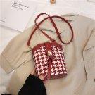 Stylish Character Pattern Bucket Bag
