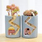 Fun Gardening Cartoon Succulent Flower Pot