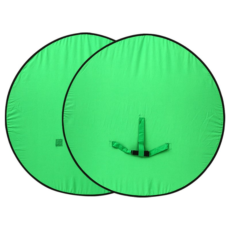 Green Screen Background Live Photography Circular Foldable Reflector
