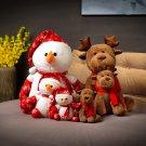 Snowman Ragdoll Plush Elk Doll Christmas Gift