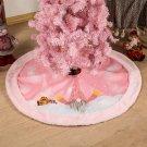 Cross-border Christmas Tree Skirt With Light Decorations