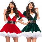 Women Christmas Dress Sexy Santa Claus