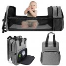 Baby Diaper Backpack Bag Mummy Foldable With Changing Pad For Sleeping