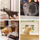 Round Pet Door For Cats And Small Dogs
