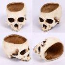 Halloween Home Skull Ashtray Flower Pot