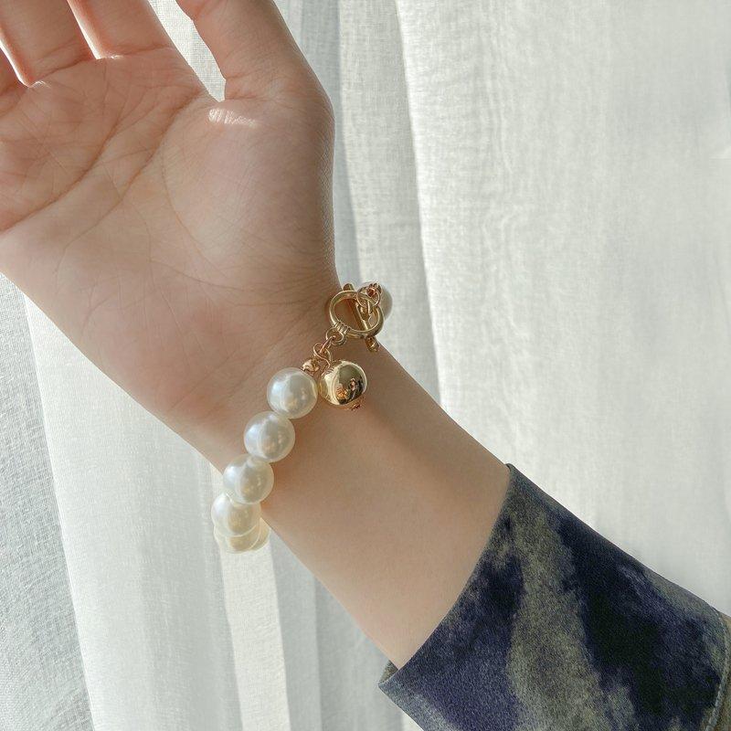 Bohemian Gold Beads Pearl Bracelets