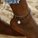 Sun Pendant Anklets Women New Stone Beads Shell Anklet