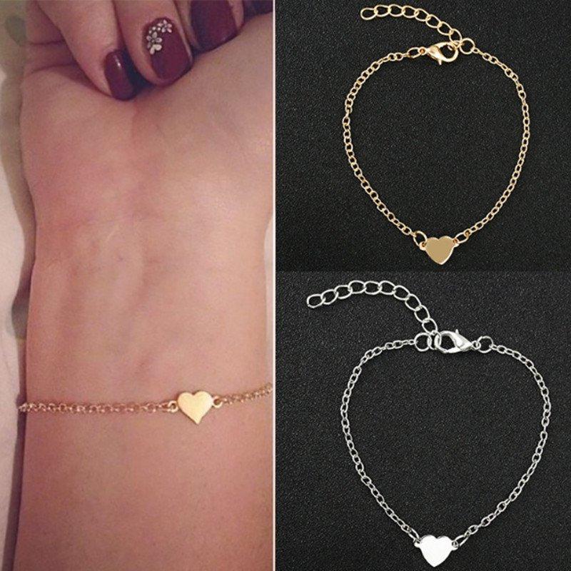 Fashion Simple Sexy Heart-shaped Love Bracelet Jewelry
