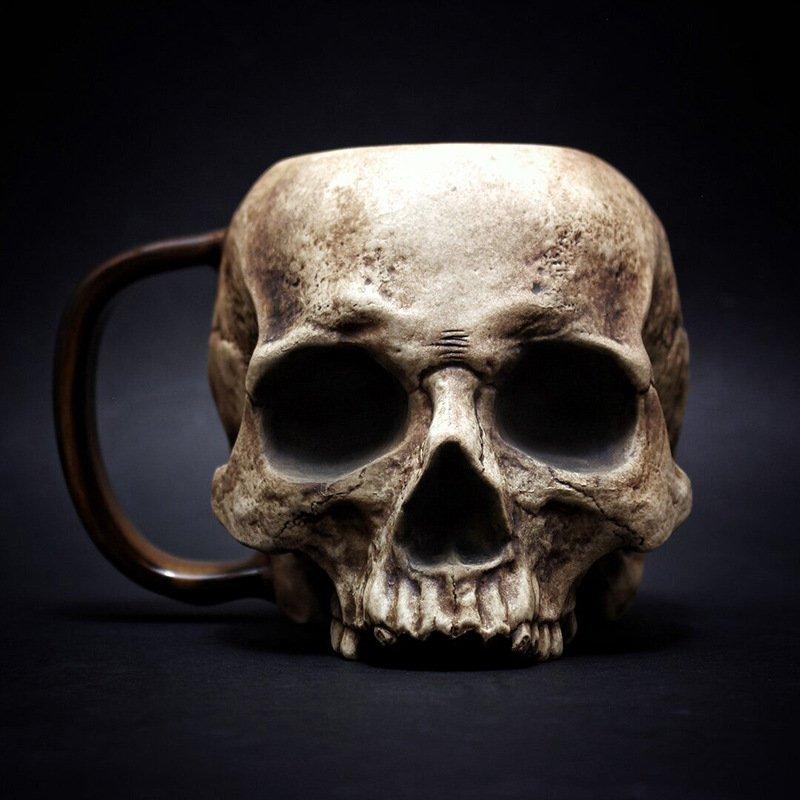 Halloween Skull Cup