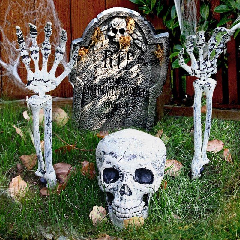 Halloween Skeleton Ghost Festival Decoration Props Simulation