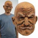 Old Man Face Headgear Halloween Party New Latex