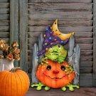 Halloween Wooden Pumpkin Decoration Listing Indoor