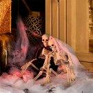Halloween Plastic Skull Ghost Skeleton Decoration Props