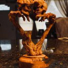 Eternal Heart Skull Resin Ornament