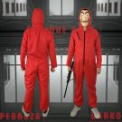 The Same Red One-piece Cosplay Costume Halloween Decoration