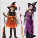 Halloween child witch costume