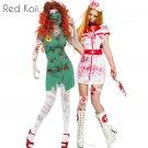 Bloody Nurse Halloween Cosplay Suit