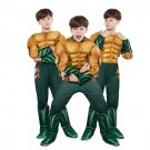 Children's Clothing Justice League Muscle Sponge Aquaman Cosplay Anime