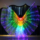 LED Butterfly Wings Halloween Stage Performance Props Women Dance
