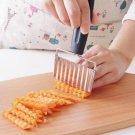Wavy Edged Stainless Steel Vegetable Slicer Potato Cutter