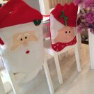 Christmas dinner table set chair coverings supplies decorative