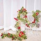 Christmas Red Fruit Festive Lights