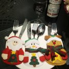 Christmas knife and fork bag