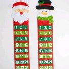Christmas calendar pendant Christmas countdown calendar