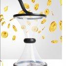 Pressure Relieving Vortex Bank Watch Money Defy Gravity Circling Around