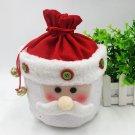 Santa Snowman Gift Candy Bell Bag Christmas Decoration Holiday Gift Bag