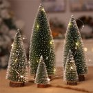Christmas pine needle tree decoration