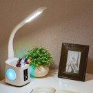 Study LED Desk Lamp USB Charging Port & Screen & Calendar Night Light