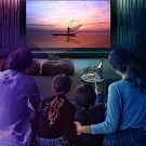 Mini Projector Led Home Theater Video Beamer Black