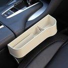 Car Organizer Seat Gap Storage Box PU Case Pocket Car Seat Side Slit