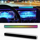 New Car Sound Control Light RGB Voice-Activated Music Rhythm Ambient Light