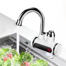 Kitchen Electric Water Tap Water Heater Temperature Display Cold Heating