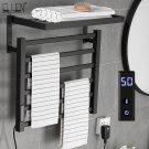 Bathroom Electric Bath Towel Warmer Heating Towel Shelf Rack Towel Dryer Shelf Heated