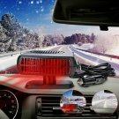 Portable Auto Car Heater Fan Air Cooler Windscreen Demister Defroster Heating Fan