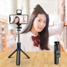 Mobile Phone Selfie Stick Bluetooth Integrated Video Camera Bracket Telescopic