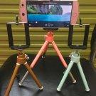 Colorful digital camera Tripod stand Mini mobile phone stand Desktop photography