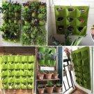 Wall Mount Hanging Planting Bags Home Supplies Multi Pockets DIY Grow Bag Planter