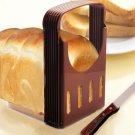 Practical Bread Cutter Loaf Toast Slicer Cutting Slicing Guide Kitchen Tool Random