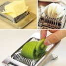 Essential Multipurpose Stainless Steel Wire Egg Slicer - Designed for Top Chefs
