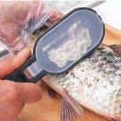 Practical Fish Scale Remover Plastic Descaler Cleaning Scraper Kitchen Fruit
