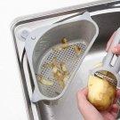 Kitchen Sink Multi-function Triangle Storage Rack Multi-purpose Dishwashing Sponge