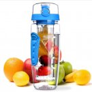 Free Fruit Infuser Juice Shaker Bottle Portable Climbing Camp Bottle