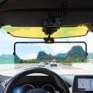 2 In 1 Car Sun Visor Polarized Sunshade Plate Clear Vision Anti-Dazzle Anti-UV