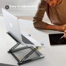Laptop Stand for Desk, Aluminum Laptop Riser Holder, Ergonomic Foldable Height Adjustable