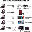 Gaming Headset with Microphone for PS4, Xbox One, PC, Headphones with Mic